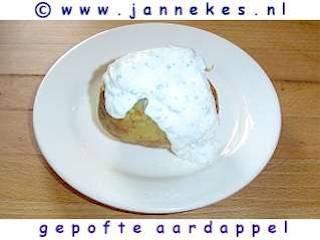recepten voor Gepofte aardappel