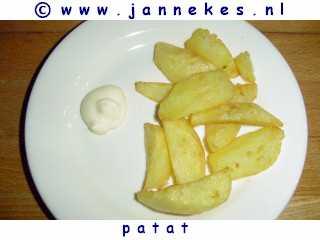 recepten voor Patat bakken