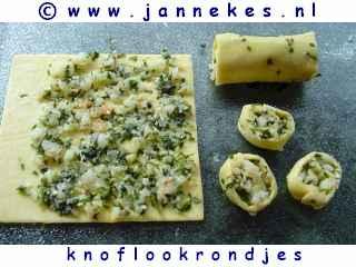 recepten voor Knoflookrondjes