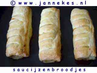recepten voor saucijzenbroodjes