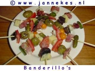 recept voor Banderilla spiesjes