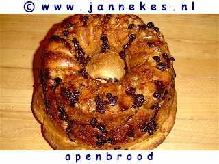 recepten voor Apenbrood
