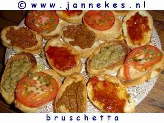 recepten voor bruschetta