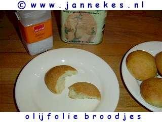 recepten voor olijfoliebroodjes