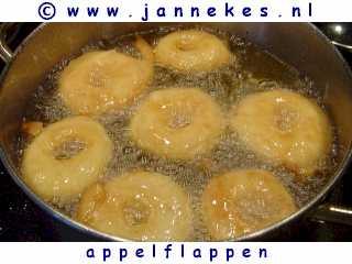 recept voor appelflappen bakken