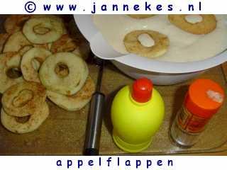recepten voor appelflappen - beslag