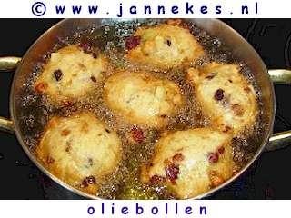 recept voor Oliebollen bakken