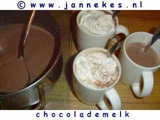 recepten voor zelf chocolademelk maken