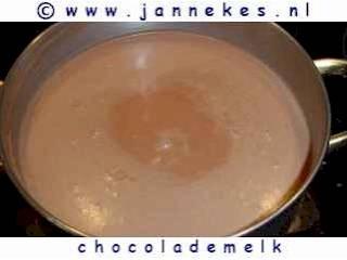 recepten voor chocolademelk