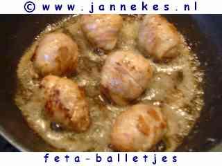 recepten voor slavinkballetjes met feta of kaas
