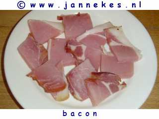 gourmet - recept bacon