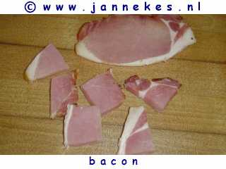 gourmetten - foto recept bacon