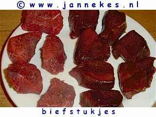 gourmetten - foto recept biefstuk