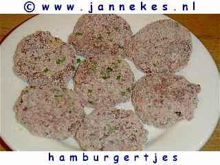 gourmet - recept hamburgertjes