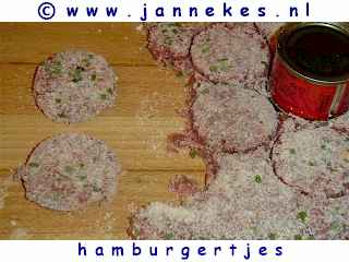 gourmetten - foto recept hamburgers