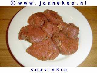 gourmet - recept souvlakia