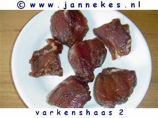 gourmet - recept varkenshaasje