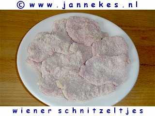 gourmet - recept wiener schnitzeltjes