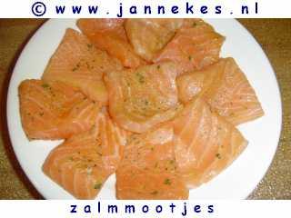 gourmet - recept zalm