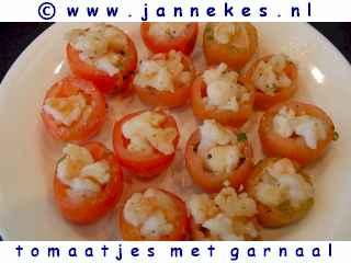 recepten voor gevulde tomaten met garnalen
