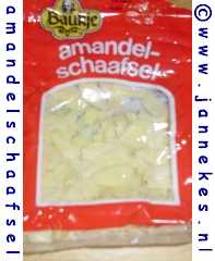 Amandelschaafsel