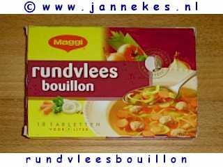 Bouilonblokjes rundvlees