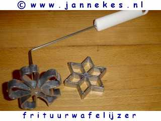 Frituurwafel ijzer (Rosetta)