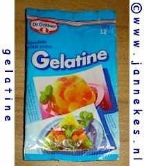 Gelatine