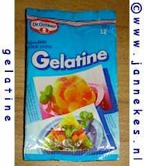 Gelatine