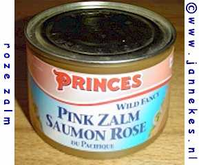 Zalm (rose) blik