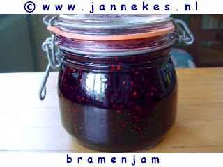 recepten voor bramen jam