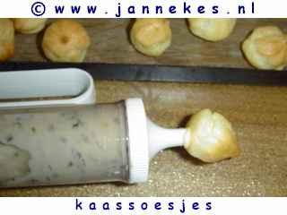 recept voor kaassoesjes