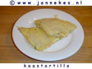 recepten voor kaas tortilla