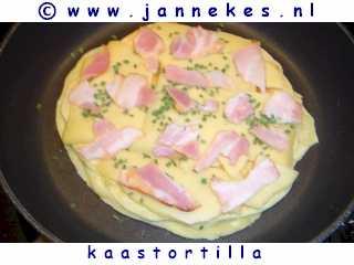 recepten voor kaastortilla
