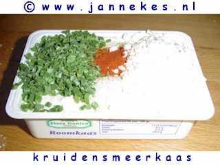 recept voor kruidensmeerkaas