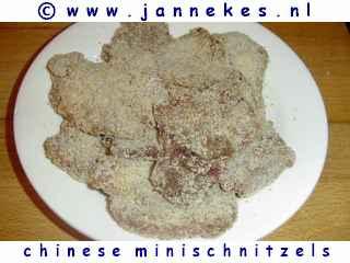 recepten voor minischnitzels