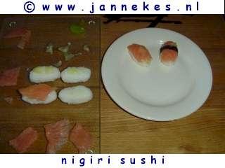 recepten voor nigiri sushi