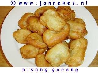 recepten voor pisang goreng