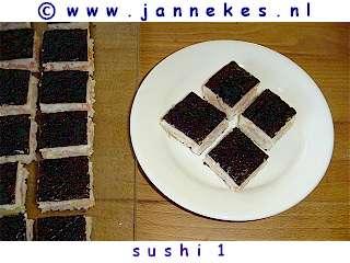 recept voor sushi oshi