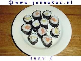 recepten voor sushi