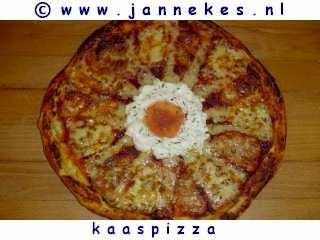 recepten voor Quattro Formaggi kaaspizza