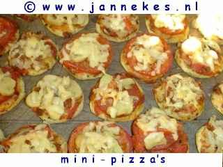 recepten voor minipizza