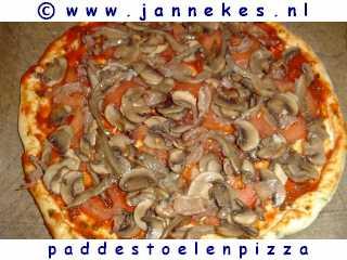 recept voor pizza funghi
