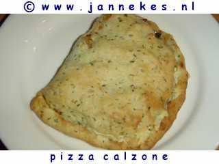recept voor pizza calzone