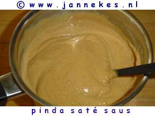 recept voor pinda-satesaus