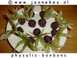 recept voor physalisbonbons