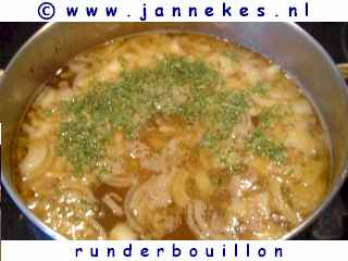foto recept runderbouillon