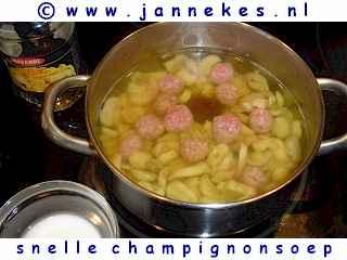 recepten voor champignonsoep