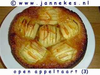 recepten voor open appeltaart