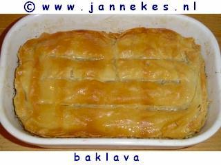 recepten voor baklava